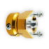 Wheel Hub Rear 30 x 63 x 6/8mm Gold Ital