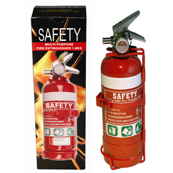Fire Extinguisher 1Kg (ABE) With Metal Bracket