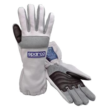 Glove Sparco Superkart Grey