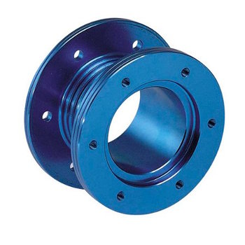 Steering Wheel Boss Adaptor Sparco Blue
