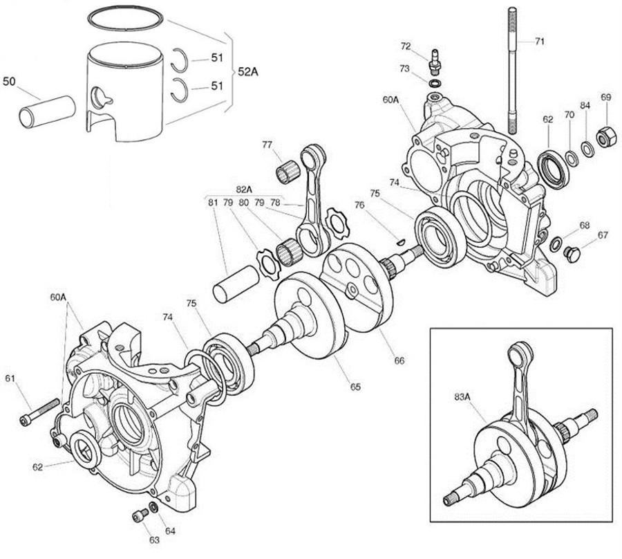 iame x30 engine parts