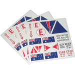 Stickers & Sticker Kits - Racing Cars