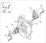 IAME X30 Engine Parts-Starter Motor Assembly