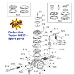 IAME X30 Engine Parts-Tryton H27 Carburettor