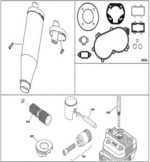 IAME X30 Engine Parts-Various Components