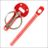 Bonnet Pins Sparco Red